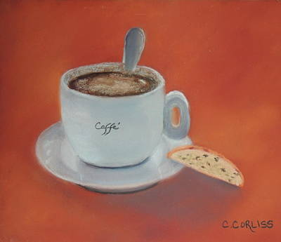 Pastel - Afternoon Caffe by Carol Corliss