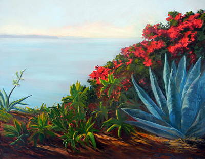Afternoon Channel Art Print by Dorothy Nalls