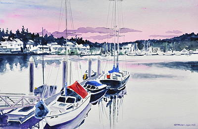 Afternoon Gig Harbor Art Print