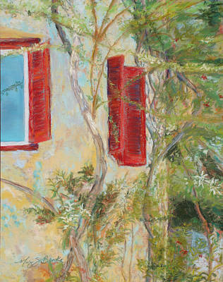 Afternoon In Athens Original by Mary Benke