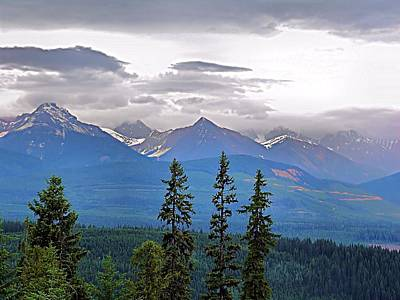 Afternoon In Yoho No.1 Art Print