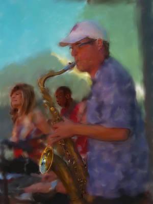 Photograph - Afternoon Jazz by Gary De Capua