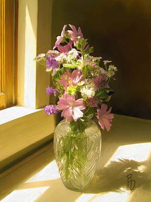Afternoon Light Art Print by Ric Darrell