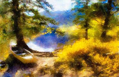 Painting - Afternoon On The Lake by Teri Brown