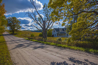 Photograph - Afternoon On Thoreson Farm by Owen Weber