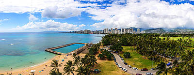 Photograph - Afternoon On Waikiki by Jason Chu