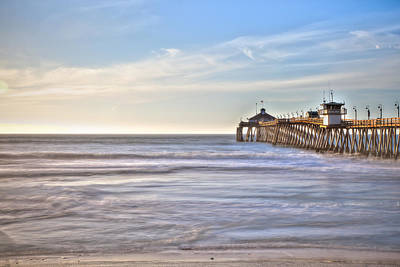 Photograph - Afternoon Pier by Peter Dyke