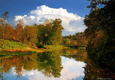 Photograph - Afternoon Reflection by Kathy Ponce