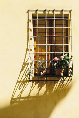 Afternoon Shadow In Montepulciano Art Print by Clint Brewer