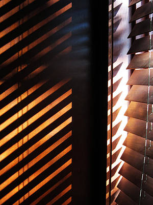 Photograph - Afternoon Shutters by Mary Bedy