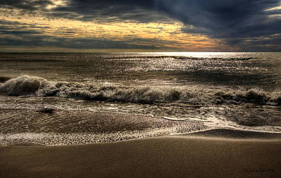 Art Print featuring the photograph Afternoon Swell by Julis Simo