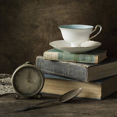 Literature Photograph - Afternoon Tea by Amy Weiss