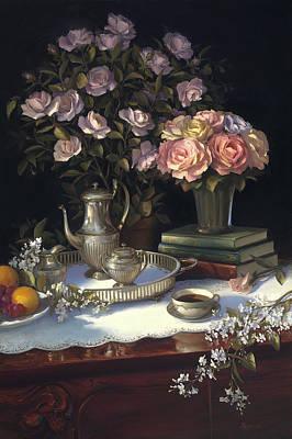 Painting - Afternoon Tea by Diane Reeves