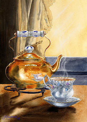 Painting - Afternoon Tea by Jill Westbrook