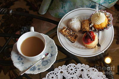 Wall Art - Photograph - Afternoon Tea by Megan Cohen