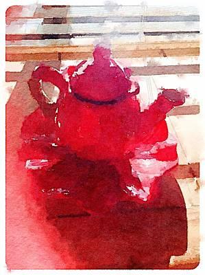 Digital Art - Afternoon Tea by Shannon Grissom
