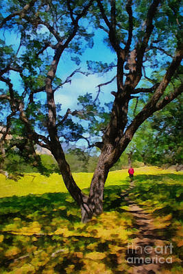Painting - Afternoon Walk by Danuta Bennett