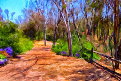 Afternoon Walk Art Print by Michael Pickett