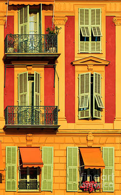 Nice House Photograph - Afternoon Windows by Inge Johnsson