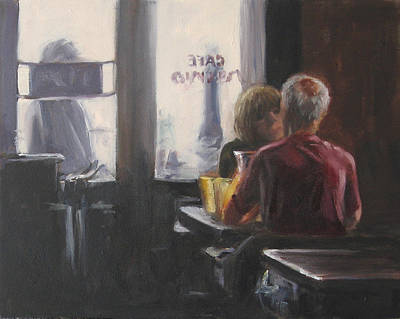 Painting - Afternoon Wine by Connie Schaertl