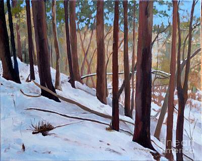 Painting - Afternoon Winter Sun by Joan McGivney