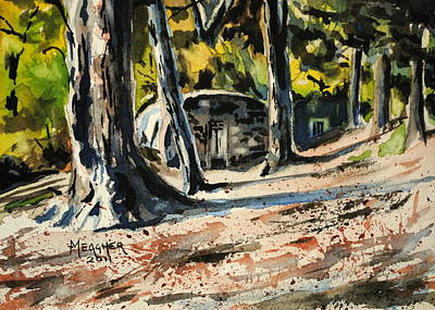 Menard Painting - Afternoons Long Shadows by Spencer Meagher