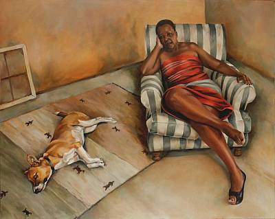 Afternoons With Nomsa And Jazz Original by Jolante Hesse