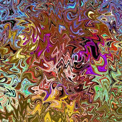 Aftershock Digital Art - Aftershock 8.7 - Original Digital Art Image by Karl Jones