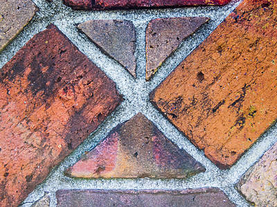 Photograph - Against A Brick Wall by Carolyn Marshall