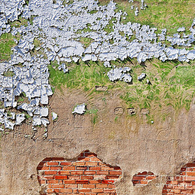 Photograph - Against The Wall Abstract by Lee Craig