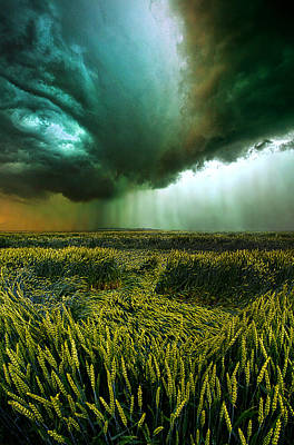 Lightning Photograph - Against The Wind by Phil Koch