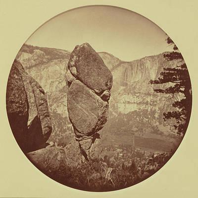 Yosemite Drawing - Agassiz Column, Yosemite Carleton Watkins by Litz Collection