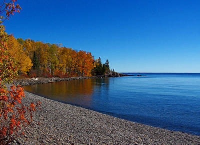 Agate Beach On Lake Superior Art Print by Steve Anderson