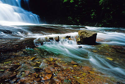 Agate Falls In U.p. Art Print by Dennis Cox WorldViews