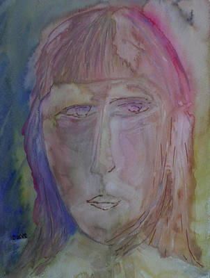 Painting - Agatha  by Oscar Penalber