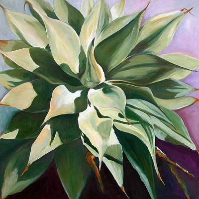 Painting - Agave 1 by Synnove Pettersen