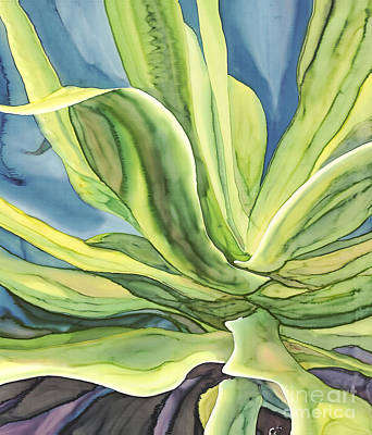 Wax Resist Painting - Agave Blue by Sutherland Christine