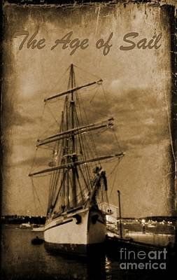 Age Of Sail Poster Art Print