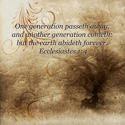 Photograph - Aged Oak Tree Generations  by TnBackroadsPhotos