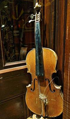 Photograph - Aged Violin by Joan Reese
