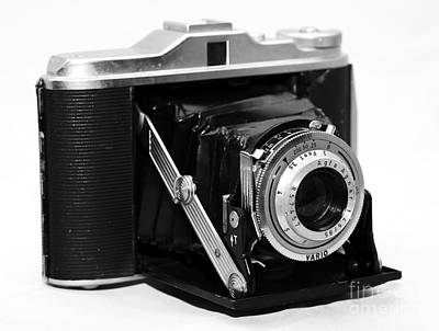 Photograph - Agfa Isollete Camera by John Rizzuto