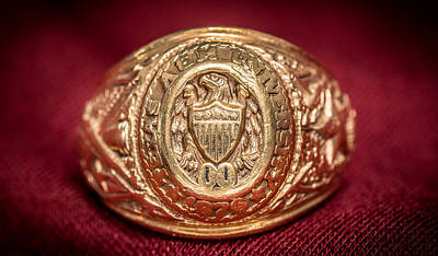 Photograph - Aggie Ring by David Morefield