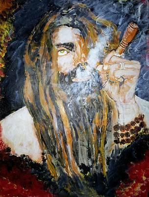 Sadhu Painting - Aghora by Vidya Vivek