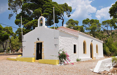 Photograph - Agia Paraskevi Chapel In Spetses Island by George Atsametakis
