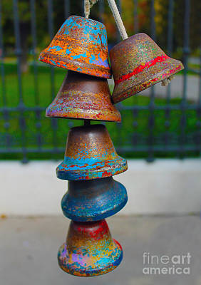 Photograph - Aging Bells by Nina Silver