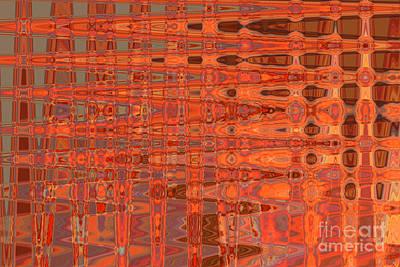 Aging Gracefully - Abstract Art Art Print by Carol Groenen