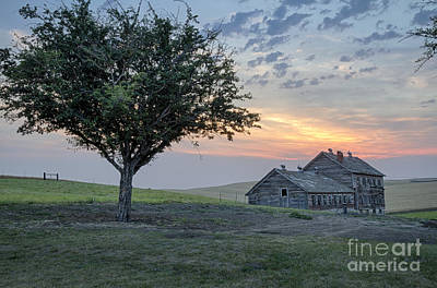 Photograph - Aging On The Palouse  by Idaho Scenic Images Linda Lantzy