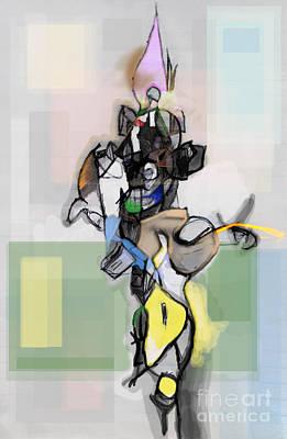 Inner Self Digital Art - Self-renewal 12dc by David Baruch Wolk