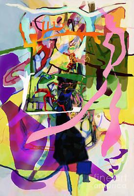 Inner Self Digital Art - Self-renewal 13za by David Baruch Wolk