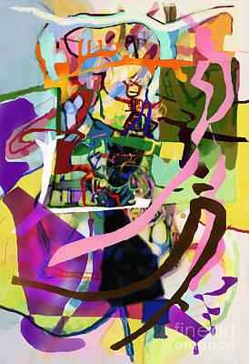 Inner Self Digital Art - Self-renewal 13zb by David Baruch Wolk